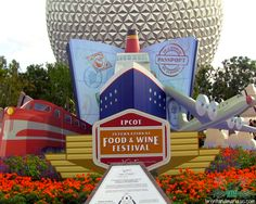 Epcot Food & Wine Festival in the Fall