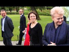 Президент Литви передає привіт українцям. Вільнюс, липень 2014