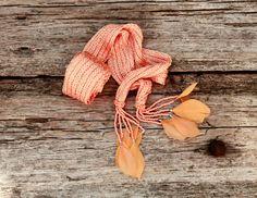 Long Scarf/ Knitted Scarf/ Summer Scarf/ Women by NATAsoftitem