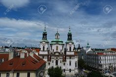 Picture of Church of St Nicholas of Old Town in Prague, Czech Republic stock photo, images and stock photography. Prague Photos, Prague Old Town, Prague Czech Republic, Saint Nicholas, Architecture Photo, Image Now, Saints, Royalty Free Stock Photos, Mansions