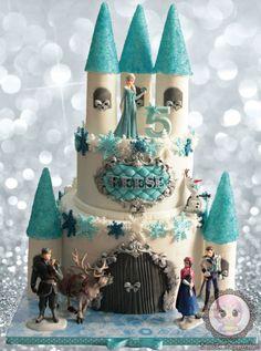 Frozen Castle cake                                                       …                                                                                                                                                                                 More