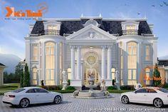 mediterranean homes and decor Classic House Exterior, Classic House Design, Dream House Exterior, Modern House Design, Luxury Homes Exterior, Luxury Homes Dream Houses, House Plans Mansion, Dream House Plans, Villa Design