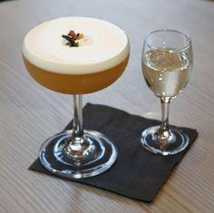Imperial Earl Grey Pornstar Martini cocktail