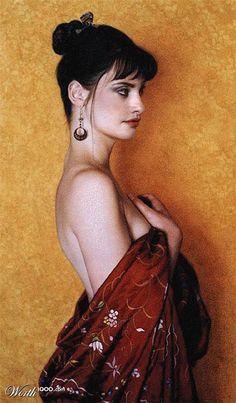 Penelope Cruz as Figure by Jon DeMartin