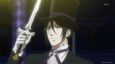 Sebastian Mihaelis. Kuroshitsuji. Black Butler: Book of Circus #gif