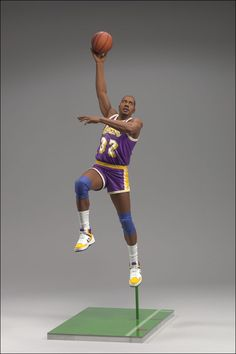 7ab909741b5a McFarlane Toys  NBA Legends Series 5 Magic Johnson Action Figure  Lakers
