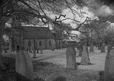 Old graveyard at Gt. Lumley, Co. Durham, UK