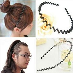 1PC Hairband Headband Pearl Beads Braided Hair Hoop Hair Accessories Women Girls