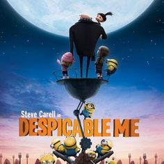 Despicable Me, one of taylor's favorites, can't wait to take her to see the second one that comes out next summer!