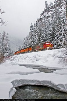 RailPictures.Net Photo: BNSF 771 BNSF Railway GE C44-9W (Dash 9-44CW) at Merritt, Washington by Ross Fotheringham