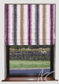 #Artiste #Paola #Damson #Roman #Blind #Purple #Lavender #Decorate #New