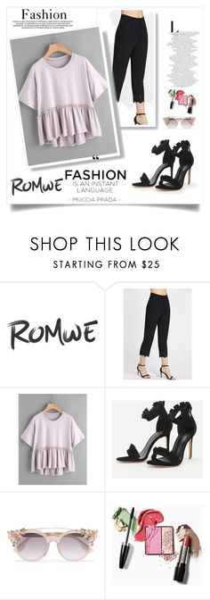 """ROMWE #18#"" by besirovic ❤ liked on Polyvore featuring Jimmy Choo"