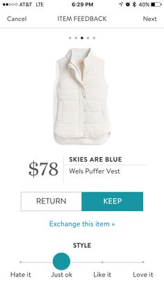 So cozy and comfy! My first vest ever. Get adventurous with your stitch fix today! https://www.stitchfix.com/referral/9984102