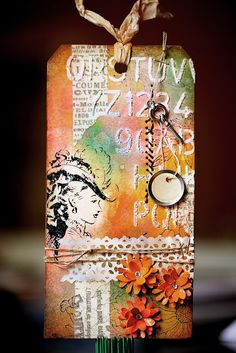 Hokiecoyote Blog: Tim Holtz - 12 Tags of 2016 (May)