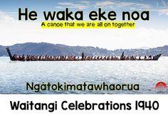Te Waka-A Symbol of Collaboration: kotahitanga