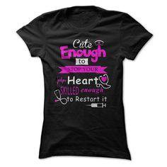 Nurse cute T-Shirts, Hoodies. ADD TO CART ==► https://www.sunfrog.com/Geek-Tech/Nurse-cute-Ladies.html?id=41382