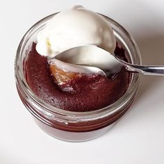 Basically, lava cakes, to go, that you can bake at home. Only in Seattle! Best Chocolate, Chocolate Desserts, Seattle Food, Lava Cakes, Truffles, Panna Cotta, Peanut Butter, Trips, Sweets