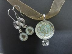 glass tile jewelry  | CSA Designs Glass Tile Jewelry | My Artwork - CSA Designs