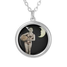 #Anita Page Silver Plated Necklace - #Halloween happy halloween #festival #party #holiday