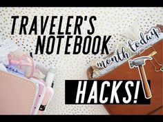 Traveler's Notebook Hacks // DIY For ALL TN Sizes