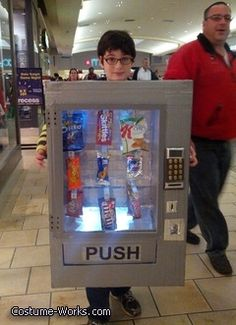 Vending Machine - Halloween Costume Contest