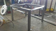Stainless framework Stainless Steel Fabrication, Drafting Desk, Table, Furniture, Home Decor, Decoration Home, Room Decor, Home Furniture, Interior Design