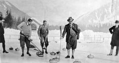 Great Britain plays for the gold medal at Chamonix Winter Olympics in 1924.