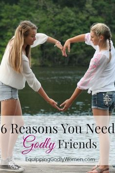 Godly friendships aren't just nice to have. They're essential!