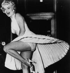 La robe iconique de Marilyn Monroe