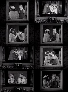 "Buster Keaton in ""Sherlock Jr."" - this sequence is one of my all-time favourite love scenes. <3"