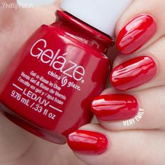China Glaze Gelaze – Salsa