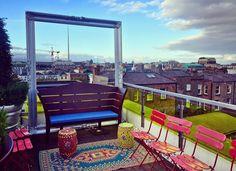 The Morgan Hotel, Penthouse Suit - Eat Sleep Chic Rooftop Bar, Hotel Deals, Eat Sleep, Outdoor Furniture, Outdoor Decor, Dublin, Sun Lounger, Around The Worlds, Hotels