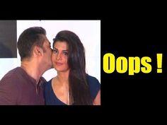 OMG ! Salman Khan KISSES Jacqueline Fernandez publicly.