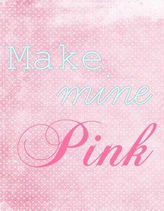 #MJB Pretty-N-Pink makes me happy #PinkWords #MakeMinePink ♡Love it's Love♡