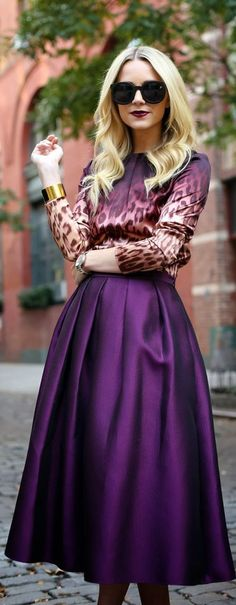 How To Wear the Midi Skirt – Fashion Style Magazine - Page 5