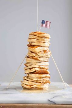 Pancake Day! Here's a delicious recipe for the perfect, fluffy All-American breakfast pancakes