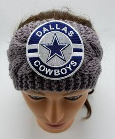 Dallas Cowboys Headband NFL Football Cowboys Clothing Cowboys Hair Accessories  #Handmade #DallasCowboys