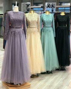 Hijab Evening Dress, Hijab Dress Party, Long Gown Dress, Ball Gown Dresses, Evening Dresses, Designer Party Wear Dresses, Kurti Designs Party Wear, Kebaya Modern Dress, Simple Long Dress
