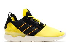 6ed0e9a360ebe adidas Originals ZX 8000 Boost Bright Yellow Core Black Cream White  The  latest remix from adidas Originals of the classic ZX 8000 silhouette comes  in the ...