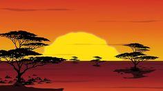 サバンナ, ライオン キング, アフリカ, サファリ, 野生, 自然
