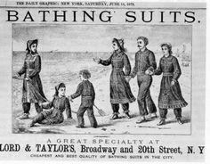 victorian bathing costumes - Google Search