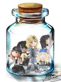 Guns N' Roses in a Jar by SassyLilPanda on DeviantArt