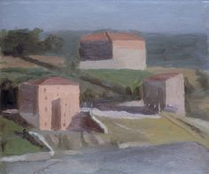 Morandi, Giorgio - On the Outskirts of a Town - Metaphysical painting - Landscape - Oil on canvas 1941