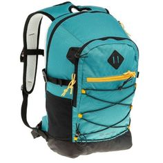 Designed for adults and children needing a backpack for LOWLAND HIKING that can also be used on other occasions. Hiking Gear, Hiking Backpack, Escape, Decathlon, Camping, Sport, Backpacks, Turquoise, My Style