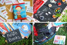 Lots of Pirate activities and crafts