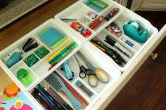 Organizing that junk drawer!