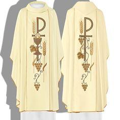 Zdjęcie Ornat biały (1) Xhosa Attire, Holy Rosary, Catholic Priest, My Prince Charming, Embroidery Designs, Bobby, Dubai, Christian, Patterns