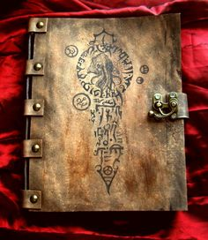 Necronomicon Cult of Cthulhu by MrZarono on DeviantArt Wicca, Magick, Necronomicon Lovecraft, Hp Lovecraft, Vegvisir, Call Of Cthulhu, Magic Book, Leather Journal, Book Binding