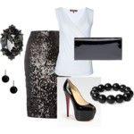 Dressy Black & White