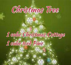 Scentsy christmas tree recipe